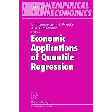 Economic Applications of Quantile Regression (Studies in Empirical Economics), Used Book (9783790814484)