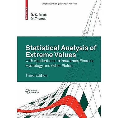 Statistical Analysis of Extreme Values: with Applications to Insurance, Finance, Hydrology and Other Fields, Used(9783764372309)