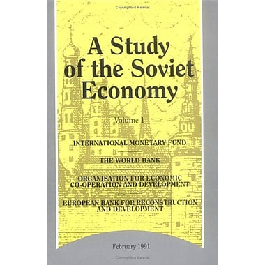 A Study of the Soviet Economy (Vols 1-3), Used Book (9789264134683)