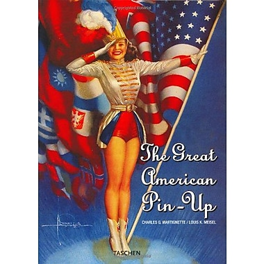 The Great American Pin-Up (English, German and French Edition) (9783822817018)