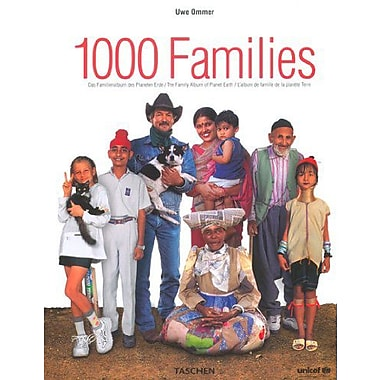 1000 Families: The Family Album of Planet Earth, New Book (9783822822647)