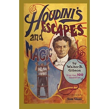Houdini's Escapes and Magic, New Book (9784871876032)