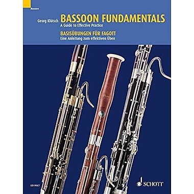 BASSOON FUNDAMENTALS GUIDE TO EFFECTIVE PRACTICE STUDIES, New Book (9783795752583)