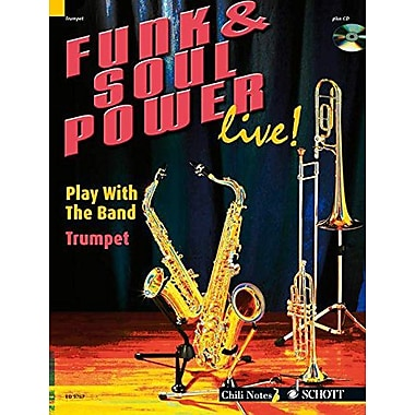 Funk & Soul Power: Play Trumpet with the Band Trumpet, Used Book (9790001137126)