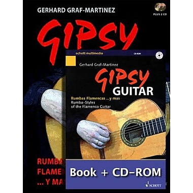 Gipsy Guitar w/2 CD and CD ROM (Flamenco Guitar) (9783795755874)