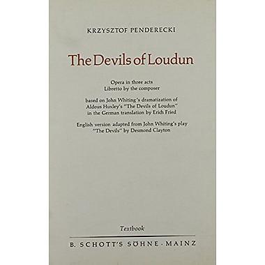 THE DEVILS OF LOUDUN LIBRETTO ENGLISH, New Book (9783795736460)