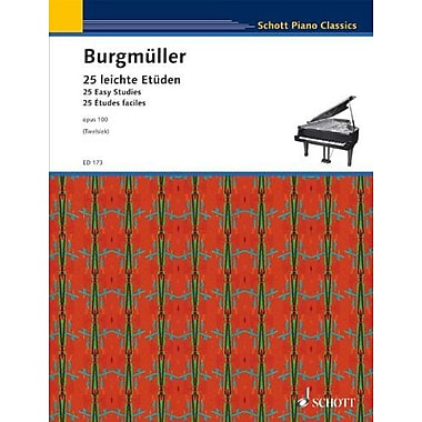 25 Etudes, Op. 100: for Piano, New Book (9790001031103)