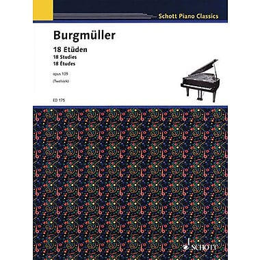 18 ETUDEN OPUS 109 18 STUDIES, Used Book (9783795752897)