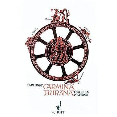 CARMINA BURANA LIBRETTO ORIGINAL TEXT AND GERMAN TRANSLATION, New Book (9783795736330)