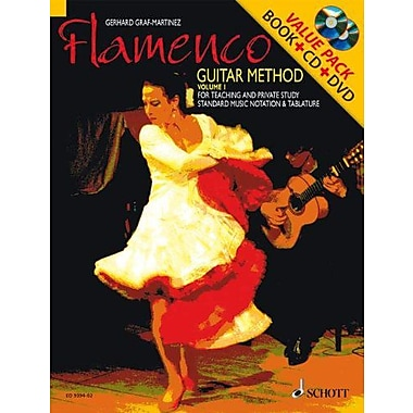 Flamenco Guitar Method Volume 1: Book/CD/DVD Pack (Schott), New Book (9790001139205)