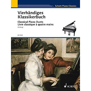 CLASSICAL PIANO DUETS EASY ORIGINAL DUETS PNO/4HD, Used Book (9790001038058)