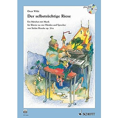 DER SELBSTSUECHTIGE RIESE GERMAN HARDCOVER BOOK AND CD (9783795704988)