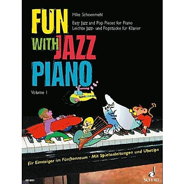 FUN WITH JAZZ PIANO VOL. 1, New Book (9783795750572)
