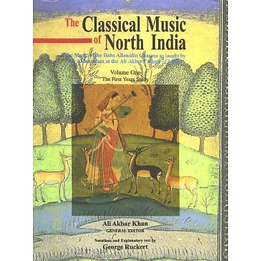 Classical Music of North India the First Years of Study: The Music of the Baba Allauddin Gharana As Ta, New Book (9788121508728)