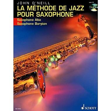 LA METHODE DE JAZZ POUR SAXOPHONE ALTO OR BARITONE BK/CD FRENCH TEXT (9783795757038)