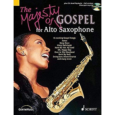 The Majesty of Gospel for Alto Saxophone: 16 Great Gospel Songs, Used Book (9790001136198)