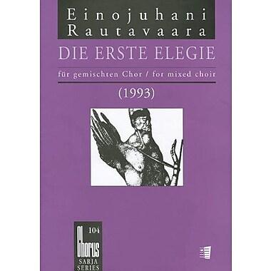 DIE ERSTE ELEGIE (1993) THE FIRST ELEGY SATB A CAPPELLA GERMAN (9789517575492)