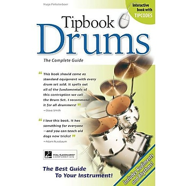 Tipbook Drums: The Complete Guide (New 6 x 9 Edition), New Book (9789087671020)