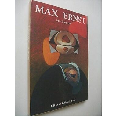 Max Ernst, New Book (9788434303829)