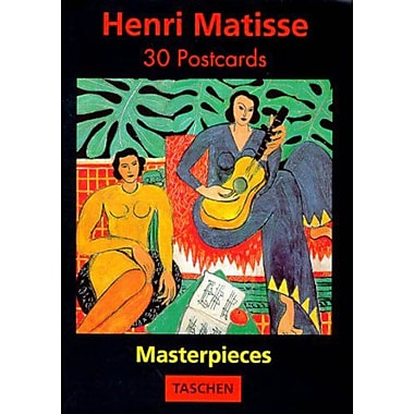 Henri Matisse: Masterpieces 30 postcards, Used Book (9783822895825)