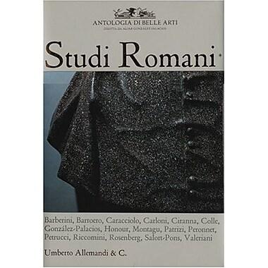 Studi Romani I: Antologia di Belli Arti, New Book (9788842212980)