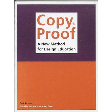 Copy Proof: A New Method for Design Education, Used Book (9789064503986)