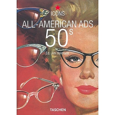 All-American Ads 50s (Icons Series), New Book (9783822824054)