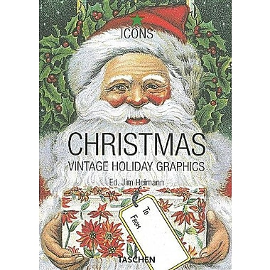 Christmas: Vintage Holiday Graphics (Icons), Used Book (9783822845868)