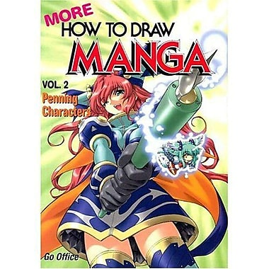 More How To Draw Manga Volume 2: Penning Characters, Used Book (9784766114836)