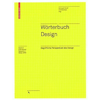WOrterbuch Design (Board of International Research in Design) (German Edition), New Book (9783764377380)