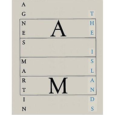 Agnes Martin: The Islands, New Book (9783937572062)