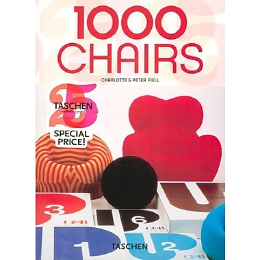 1000 Chairs (English, German and French Edition) (9783822841037)