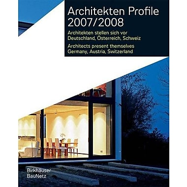 Architekten Profile 2007/2008, New Book (9783936560411)