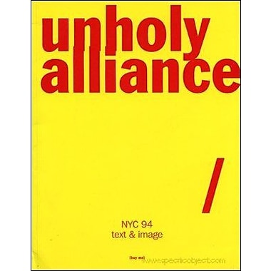 Unholy Allliance, Used Book (9789069181363)