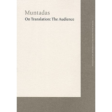 On Translation: The Audience:, New Book (9789073362437)