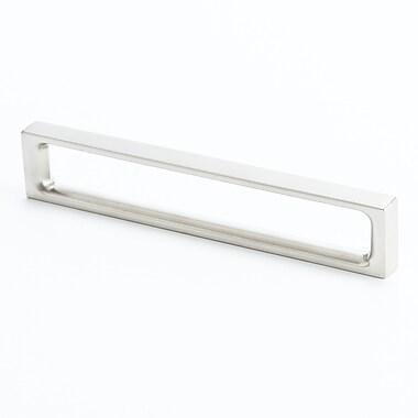 R. Christensen Dual 5 1/33'' Center Bar Pull; Brushed Nickel