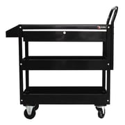 Excel Metal Utility Cart; Black