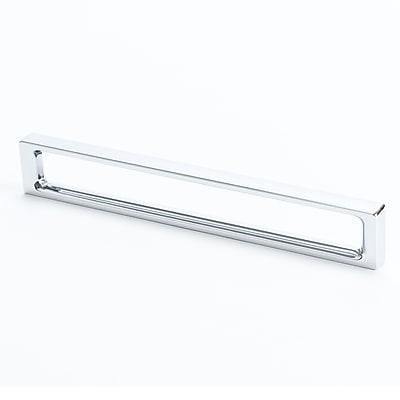 R. Christensen Dual 6 2/7'' Center Bar Pull; Chrome