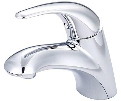 Pioneer Legacy Centerset standard Bathroom Faucet; Polished Chrome