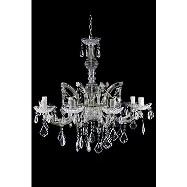 Renaissance 2K 8-Light Crystal Chandelier