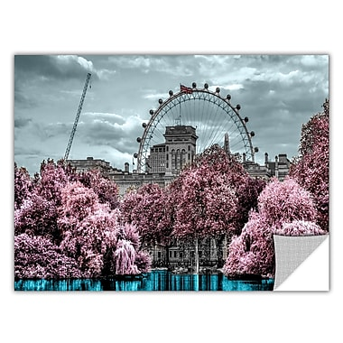 ArtWall 'London II' by Revolver Ocelot Graphic Art on Wrapped Canvas; 32'' H x48'' W