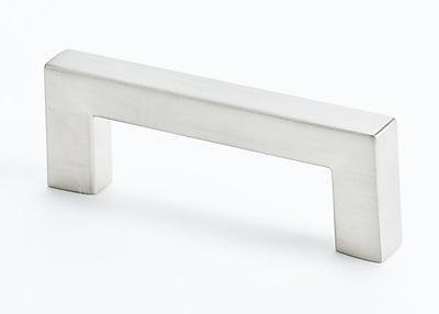 R. Christensen 2 1/2'' Center Bar Pull; Brushed Nickel