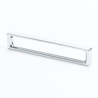 R. Christensen Dual 5 1/33'' Center Bar Pull; Chrome