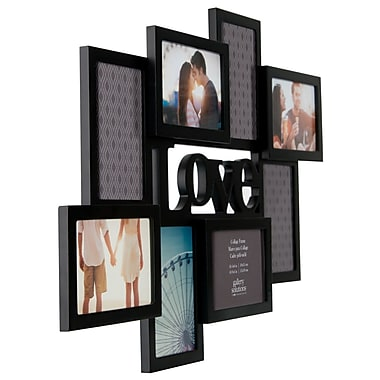 NielsenBainbridge Gallery Solutions 8 Opening Love Cutout Collage Picture Frame