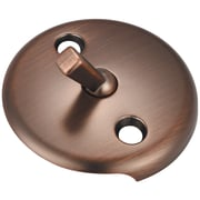 Pioneer Bath Overflow Trip Lever Face Plate; Oil Rubbed Bronze