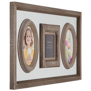 NielsenBainbridge Burnes of Boston 3 Opening Heartfelt Distressed Collage Picture Frame