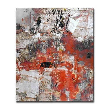 Ready2hangart 'Abstract ABS V' Framed Painting Print on Wrapped Canvas; 16'' H x 12'' W x 1.5'' D