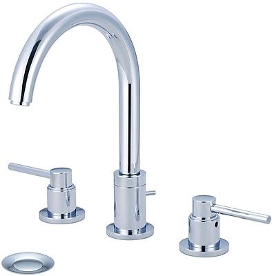 Pioneer Motegi Widespread Standard Bathroom Faucet; Polished Chrome
