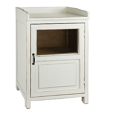 Antique Revival Madeline Display Accent Cabinet