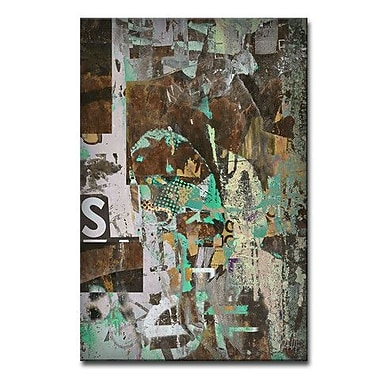 Ready2hangart 'Abstract ABS II' Framed Graphic Art on Wrapped Canvas; 30'' H x 20'' W x 1.5'' D